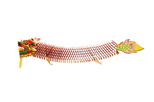 THY COLLECTIBLES Chinese Decorative Dragon For Party, Festival Celebration Or Home Decor 47.5 in (120 cm)