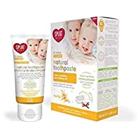 SPLAT Baby Tooth-Paste (40 ml) Natural Toothpaste for Babies 0-3 Years Old (Vanilla)