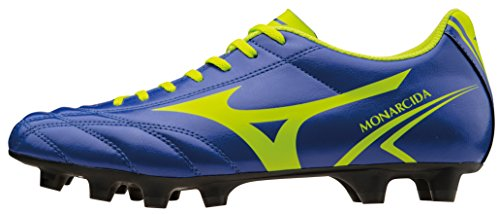 Mizuno Shoes Football Officially Monarcida MD P1GA162437 Navy Lime Size 44.5 SHIPPED FROM ITALY