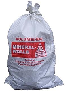 Bekannt Mineralwoll Saecke Mineralwolle/KMF Bag 220 cm Entsorgung Sack OV81