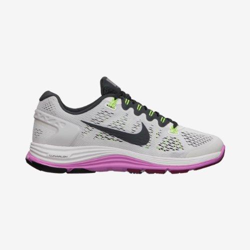 Women s Nike Lunarglide+5 (Summit White Anthracite-Rd Volt-Bright) - Buy  Online in Oman.  4d3c75e692