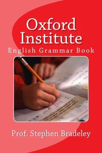 Oxford Institute: English Grammar Book