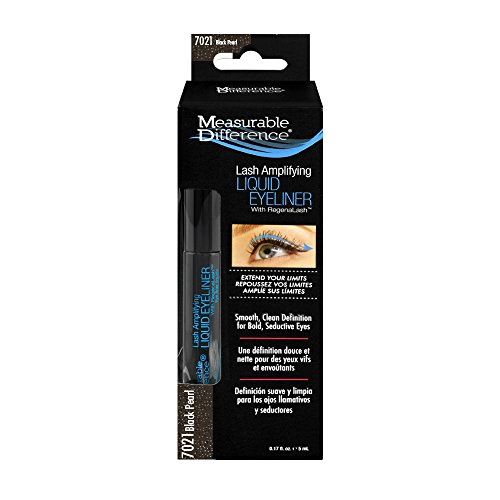 Measurable Difference Eye Amplifying Liquid Eyeliner, Black Pearl, 2 count