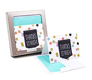 Amazon hallmark signature thank you notes thanks banner 8 greeting cards m4hsunfo
