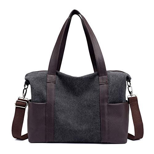Hemotrade Top Bags Da Borsa Donna 39 Beach 6 Borse nbsp;cm Coffee A Di Nero Handle Tracolla Tela Purple PvPw6pnqr