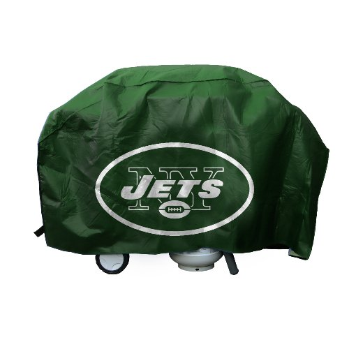 NFL New York Jets Deluxe Grill Cover