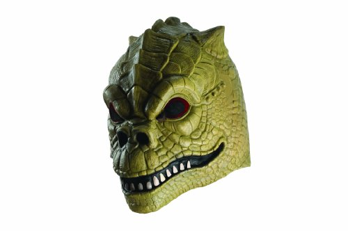 Star Wars Deluxe Adult Bossk Mask, Green, One Size
