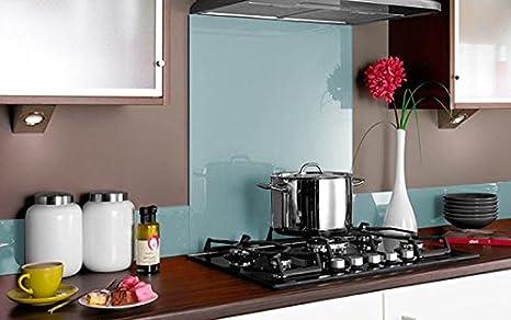 Pannello di vetro a misura in diversi colori per cucina/vetro di ...