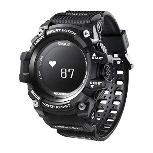 CZYCO Fashion Smart Watch Sports Fitness Heart Rate Tracker Blood Pressure Calories Waterproof Remote Photo - Remote Chute