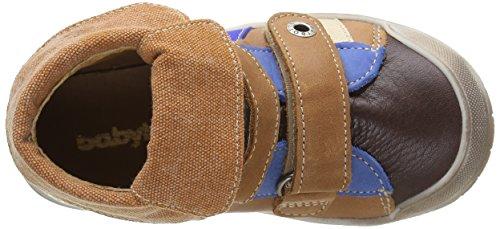 Babybotte Artitag - Zapatillas altas para niños Marrón (439 Camel)