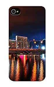 Guidepostee High Grade Flexible Tpu Case For Iphone 5/5s - Warm Summer Nights ( Best Gift Choice For Thanksgiving Day)