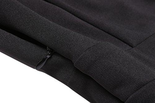 Zeagoo Women's Off Shoulder Romper Dress Flare Sleeve Solid Slim Jumpsuit Playsuit