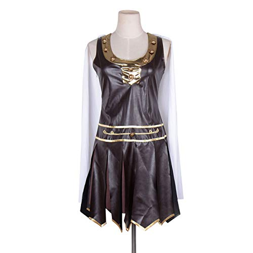Ladies Greek Xena Gladiator Warrior Princess Roman Spartan Women Adult Cosplay Costume (S)