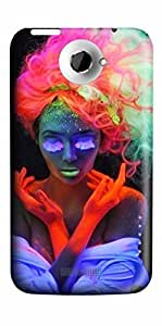 3D Hard Plastic Case Cover For HTC ONE X Unique DEsign PC Skin Shell For HTC ONE X With Colorful Art