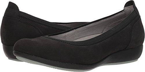 Dansko Women's Kristen Shoe, Black Milled Nubuck, 39 M EU