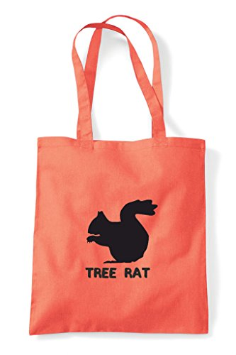 Tote Bag Cute Alternative Animal Coral Names Funny Tree Shopper Squirrel Rat Themed 1HxZgx8zqw