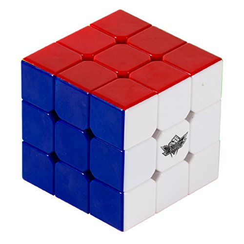 LGSAN Brain teasers 3x3 Speed Cube Stickerless Magic Cube 3x3x3 Puzzles Toys