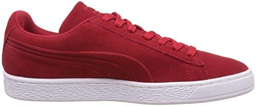 Puma Suede Classic Debossed Q3,  Zapatillas deportivas Unisex Adulto, Rojo (Barbados Cherry), 44 EU (9.5 UK)