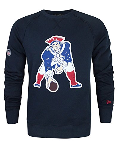 New Era NFL New England Patriots Vintage Logo Men s Sweatshirt - a3f24c473