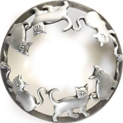 Yankee Candle Everyday Metal Kitten Illuma-Lid Jar Candle Topper by Yankee Candle