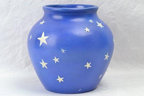 (Weller Pottery Vase, 1934 Stellar Vase signed Hester Pillsbury)