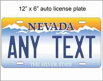 Nevada State réplica diseño de placa de licencia para ...