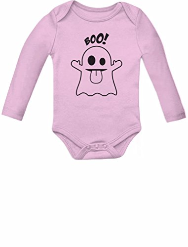 (Tstars Baby Boo Ghost Costume Outfit Cute Halloween Infant Baby Long Sleeve Bodysuit 6M)