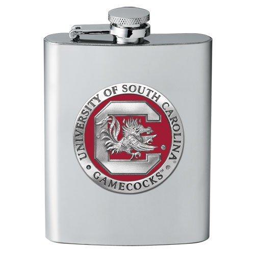 Heritage Pewter South Carolina Gamecocks Flask