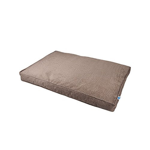 Brown Small, 24\ Brown Small, 24\ Messy Mutts Divine Flat Dog Bed with EVERFRESH Probiotic Technology for Natural, Non-Toxic Odor Control, Small