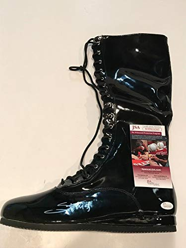 Sting Autographed Signed Wwe Replica Wrestling Boot JSA Authentication
