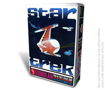 - AMT Star Trek Romulan Bird/Prey-Tin AMT666
