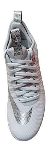Nike 805890-101 Chaussures de Basketball, Homme, Multicolore, 40.5
