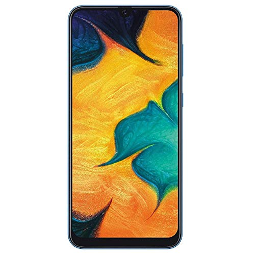 Samsung Galaxy A30 Dual SIM 32GB (SM-A305G/DS) Unlocked Phone GSM International Version - Blue ()