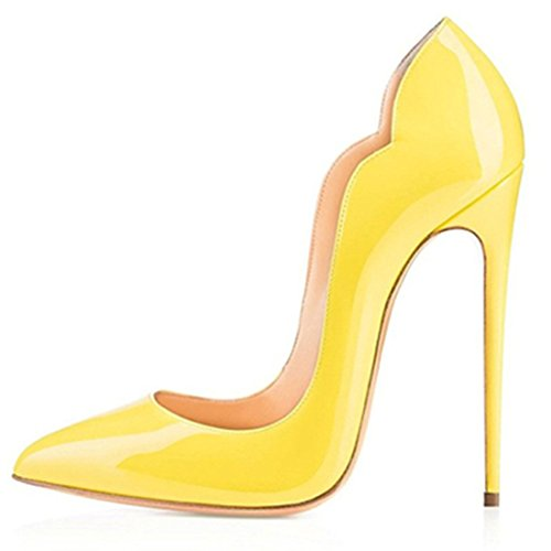 Zapatillas Chris m Ballet Mujer de TClassic B0tt Yellow Red Oxq4aUx