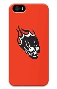 Hot iPhone 5S 3D Customized Unique Print Design Skulls Set3 New Fashion iPhone 5/5S Cases