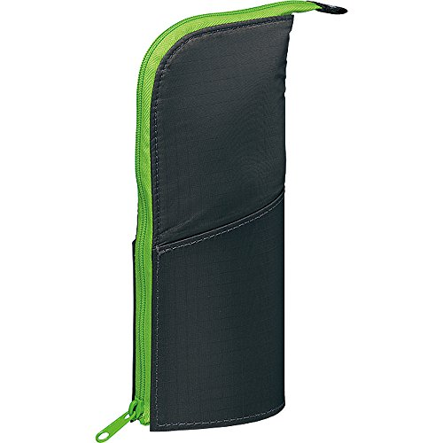 Kokuyo NeoCritz Transformer Pencil Case - Dark Green / Light Green (japan import)