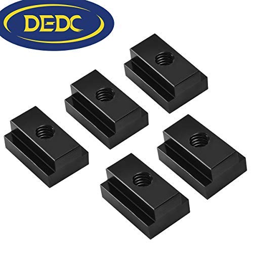 DEDC T-Slot Nuts for Toyota Tundra /& Tacoma Bed Rails,with 3//8-16 Thread Pack of 5