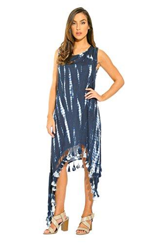 21615-NVY-2X Riviera Sun Summer Dresses / Sundresses for Women