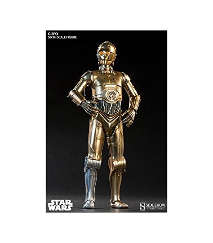 - Sideshow Star Wars Episode IV 1:6 Scale Collectible Figure: C-3PO