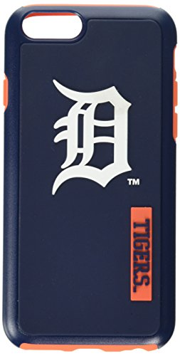 (MLB Detroit Tigers IPhone 6 Dual Hybrid Case (2 Piece), Blue)
