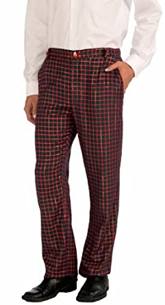 Amazon.com: Forum Novelties Men's Christmas Plaid Pants: Clothing