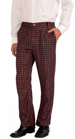 Amazon.com: Forum Novelties Men's Christmas Plaid Pants: Clothing