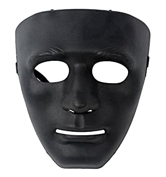 niceeshop(TM) Full Face Hockey Type Airsoft Mesh Costume Party Dance,Black