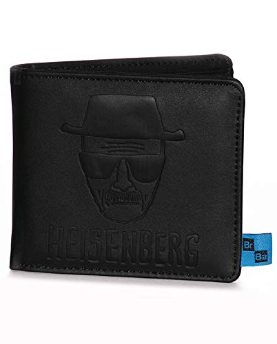 Pyramid International – Póster de Breaking Bad (Heisenberg) Oficial Cartera de Piel, Papel, Multicolor, 21 x 21 x 1,3 cm