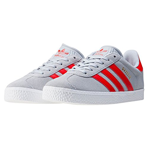 2 Kids' Gray adidas Trainers Unisex Gazelle tBggS6q