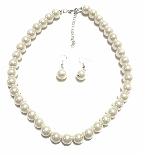 Chunky Pearl Necklace earring set product image
