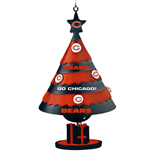 NFL Chicago Bears Tree Bell Ornament