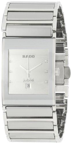 Rado Men's R20745712 Ceramic Analog Silver Dial Watch