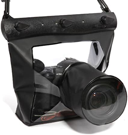20M funda sumergible impermealbe para cámara DSLR SLR Canon Nikon ...