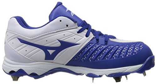 Mizuno Womens 9-spike Advanced Sweep 3 Scarpa Softball White-royal